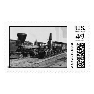 World Fair Locamotives 1930's Postage