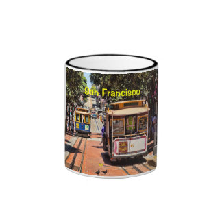 World Famous Cable Cars Coffee Mugs