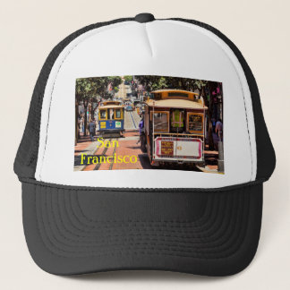 World Famous Cable Cars Trucker Hat
