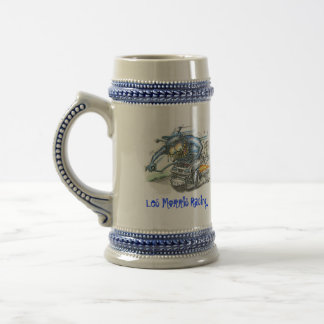 World Famous Les Morris Racing Beer Mug
