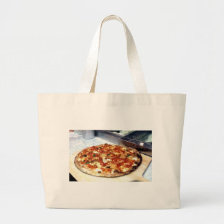 WORLD FAMOUS NEW YORK PIZZA LARGE TOTE BAG