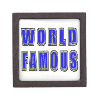 World Famous Premium Trinket Boxes