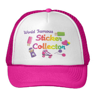 World Famous Sticker Collector Hat