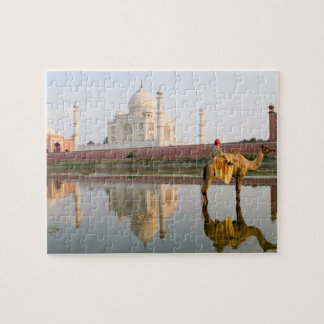 World famous Taj Mahal temple burial site at Jigsaw Puzzle