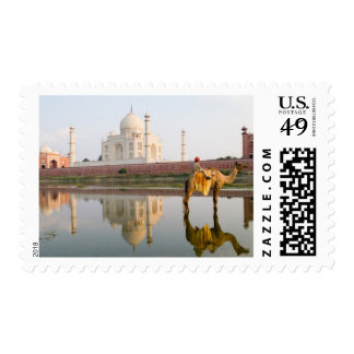 World famous Taj Mahal temple burial site at Postage
