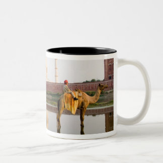 World famous Taj Mahal temple burial site at Two-Tone Coffee Mug