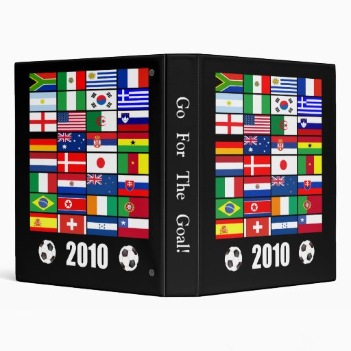 World Flags 2010 3 Ring Binders