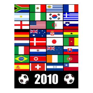 World Flags 2010 Postcard
