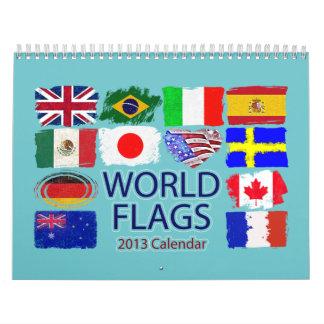 WORLD FLAGS 2013 Calendar