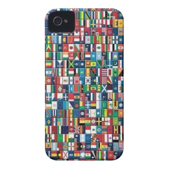 World Flags iPhone 4 Case
