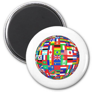 WORLD FLAGS MAGNET
