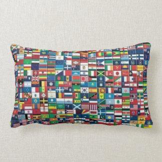 World Flags Pillow