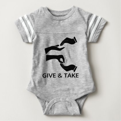 World for Give and Take Baby Bodysuit