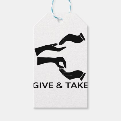 World for Give and Take Gift Tags