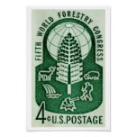 World Forestry Congress 1960 Print