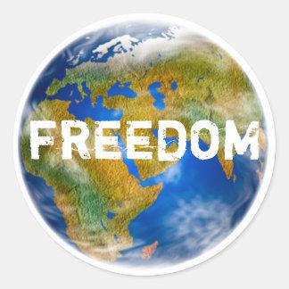World Freedom Sticker Set