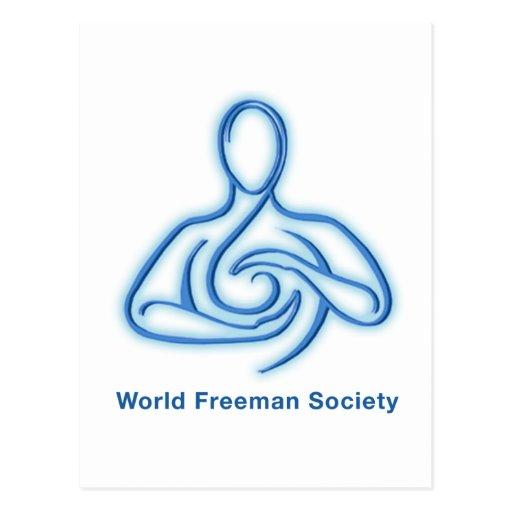 World Freeman Society Postcard
