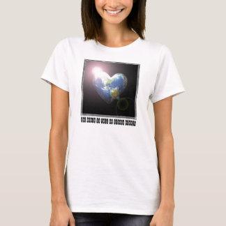 World Full Of Tender Hearts for Aunt T-Shirt