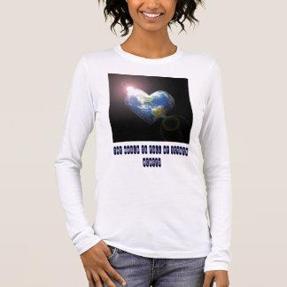 World Full Of Tender Hearts (Mom) Long Sleeve T-Shirt