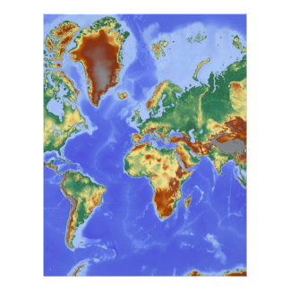World Geographic International Map Letterhead