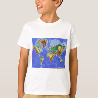 World Geographic International Map T-Shirt