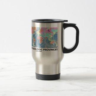 World Geologic Provinces (World Map Geology) Mug