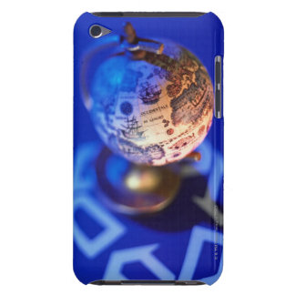 World globe atop recycling symbol iPod touch covers