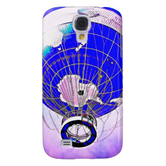 World Globe Balloon and Surreal Sky Samsung Galaxy S4 Case