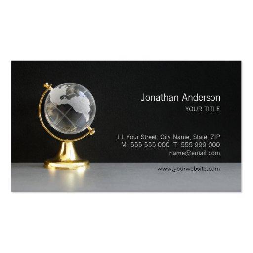 World Globe business card