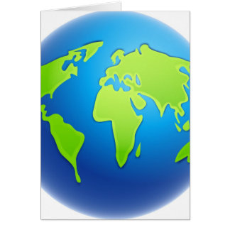 World Globe Card