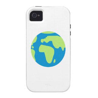 World globe earth Case-Mate iPhone 4 covers
