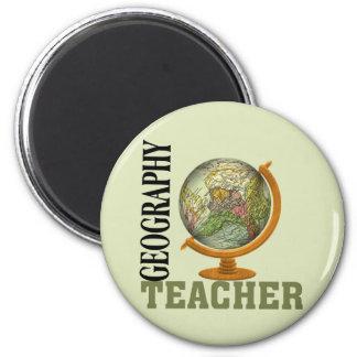 World Globe Geography Teacher Magnet