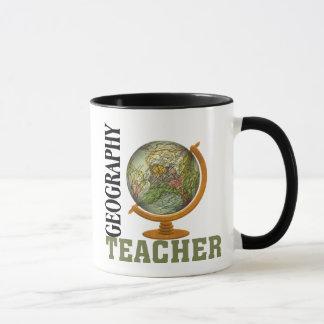 World Globe Geography Teacher Mug