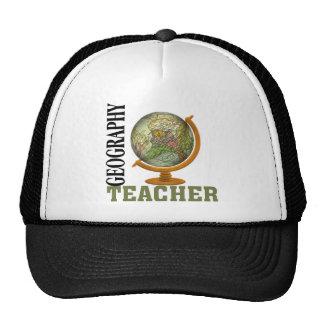 World Globe Geography Teacher Trucker Hat