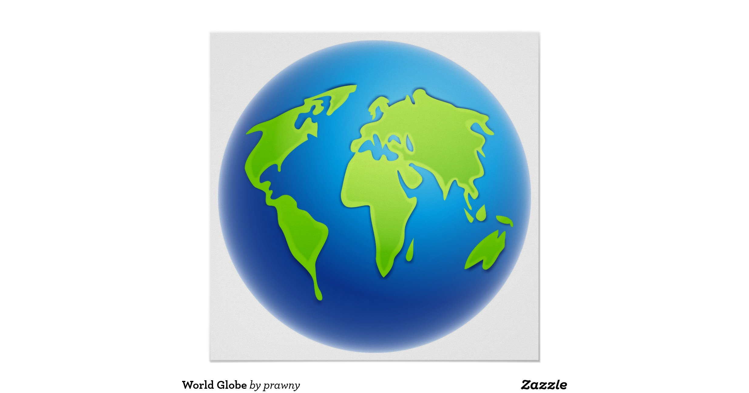 It is a photo of Challenger Printable World Globe