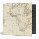 World, gnomonic proj I Africa and south Europe Vinyl Binder