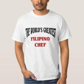 World' greatest Filipino Chef T-shirt