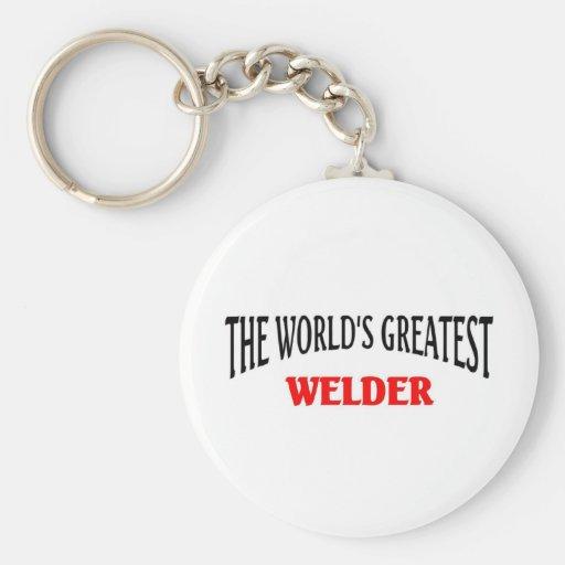 Worl'd greatest Welder Key Chains