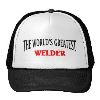 Worl'd greatest Welder Trucker Hat
