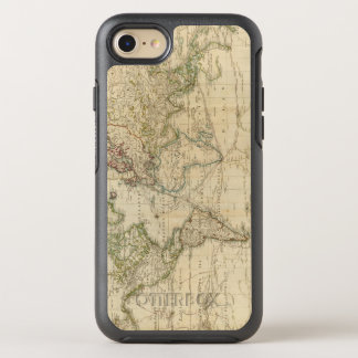 World Hand Colored map OtterBox Symmetry iPhone 8/7 Case