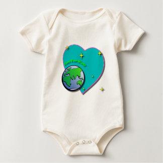 World Heart Baby Bodysuit