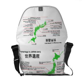 World Heritage in JAPAN 2012 Messenger Bag