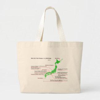World Heritage in JAPAN Canvas Bag