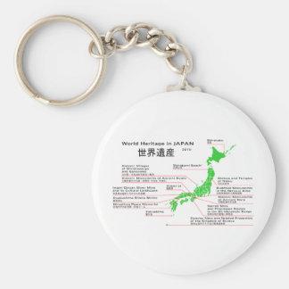 World Heritage in JAPAN Keychains