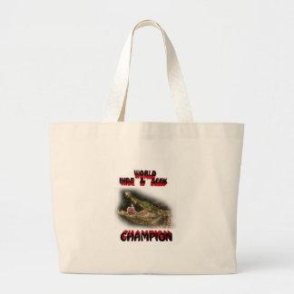 world hide & seek champion bag