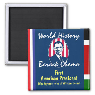 World History 2 Inch Square Magnet