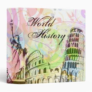 World History Art Binder