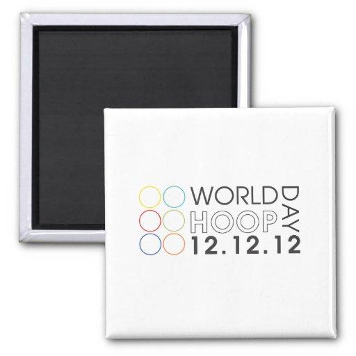 World Hoop Day 2012 Magnet