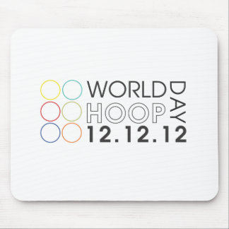World Hoop Day 2012 Mouse Pad