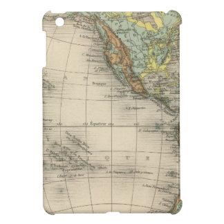 World hypsometric maps iPad mini case
